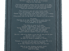 desiderata-on-slate-plaque