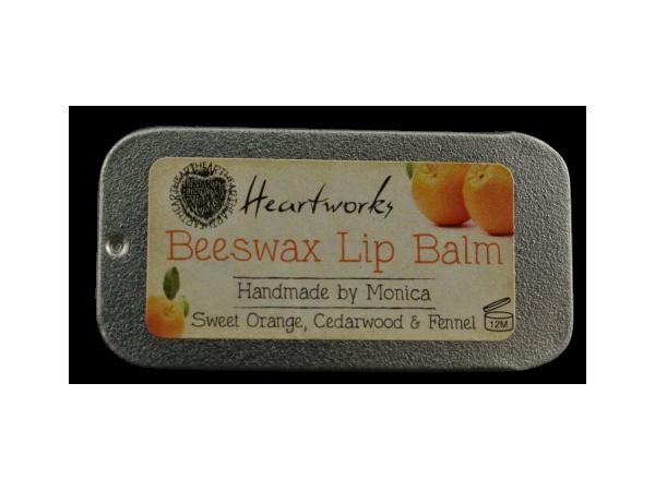 Lip Balm With Sweet Orange, Cedarwood and Fennel