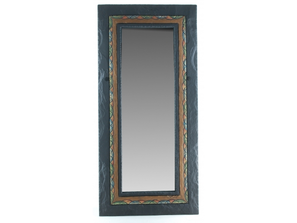 Slate Mirror Celtic Border
