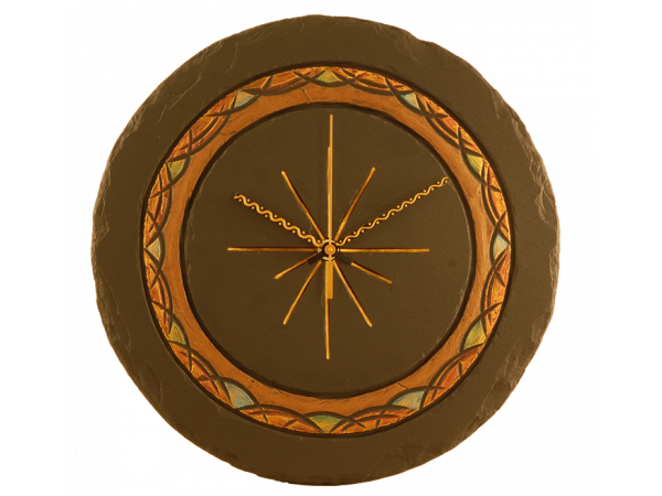 celtic-slate-round-clock