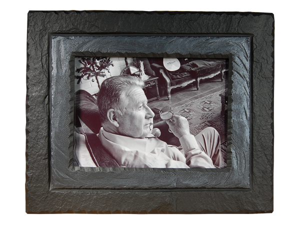 Photo Frame Slate Charcoal Band