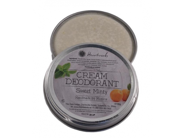 "Cream Deodorant ""Sweet Minty"""