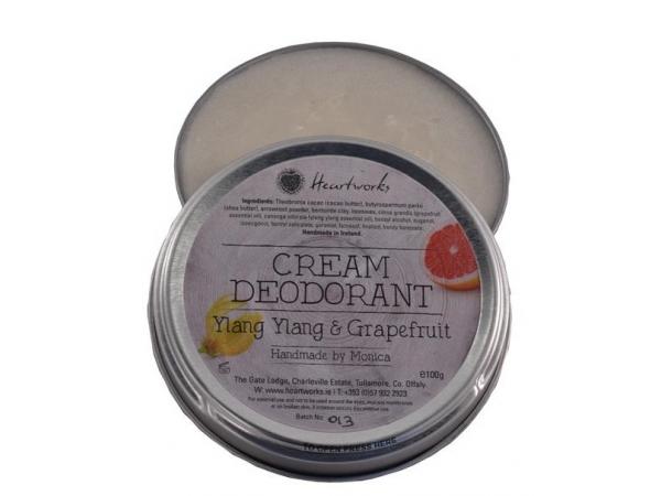 """Cream Deodorant """"Ylang Ylang & Grapefruit"""""""