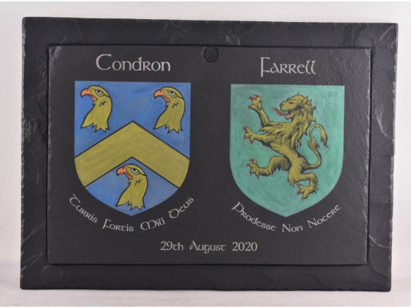 family-crests-on-slate