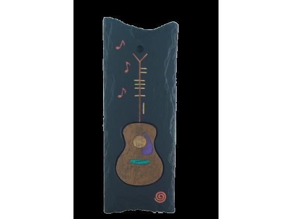 guitar-on-slate