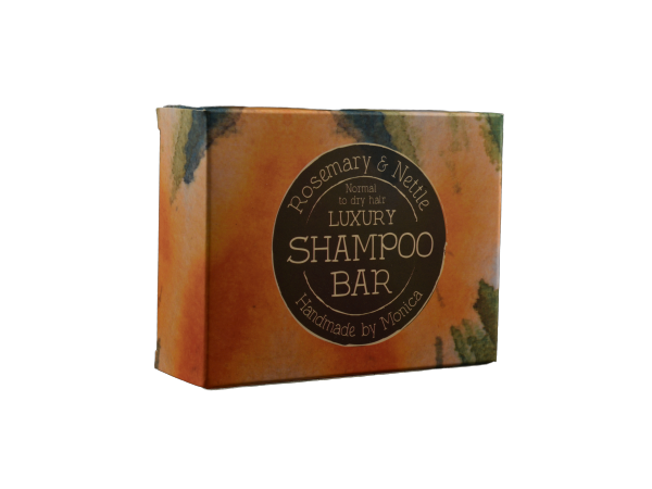 Handmade Natural Shampoo Bar with Rosemary and Nettle