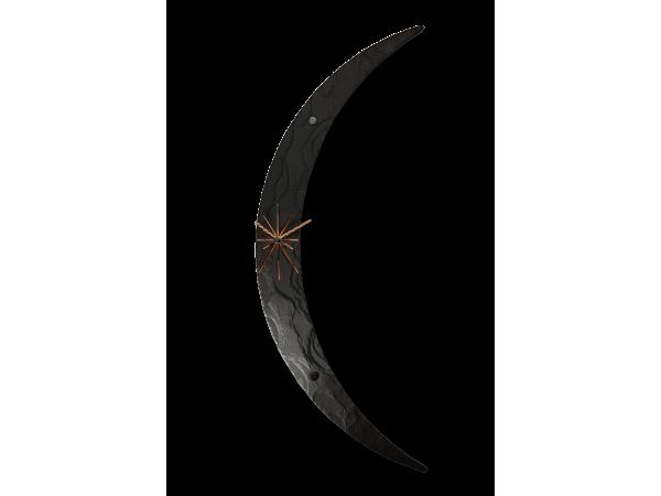 Moon Clock Black