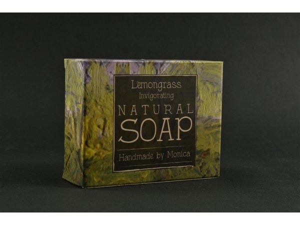 Natural Handmade Soap with Lemongrass