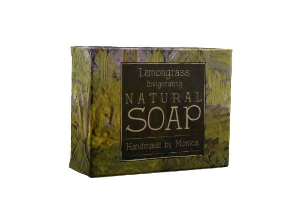 Natural Handmade Soap with Lemongrass