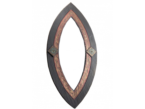Oval Mirror Ornate