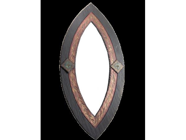 Oval Mirror Ornate