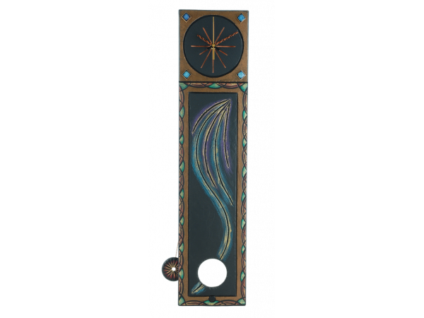 "Pendulum Clock ""Rays of Sun Between the Showers"""