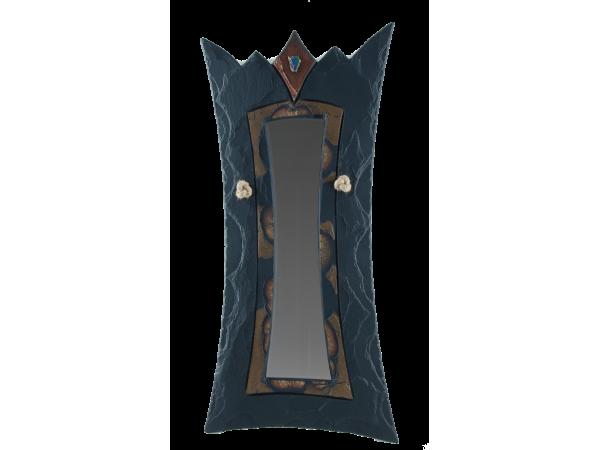 Queen Mirror and Regal Clock