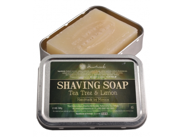 Shaving Soap Tea tree & Lemon