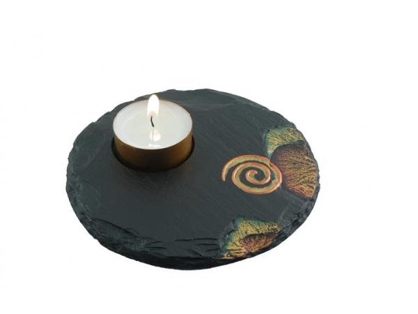 Tealight Holder Celtic Spiral