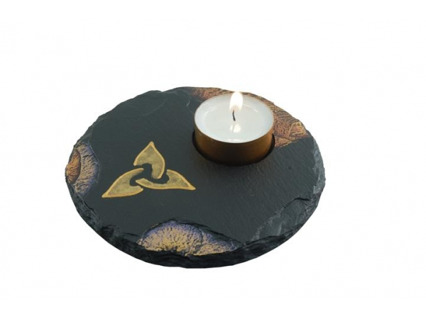 Tealight Holder Celtic Triad