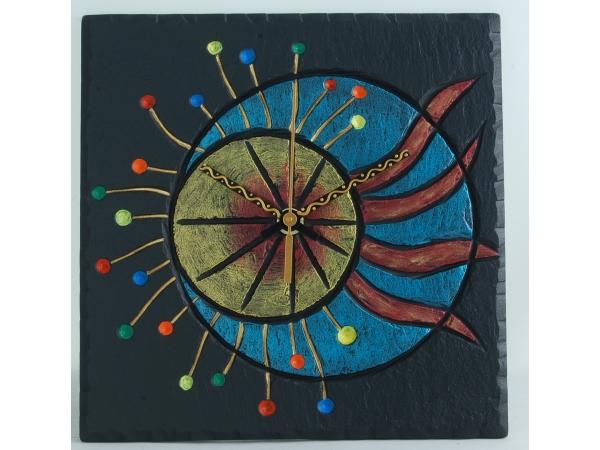 slate-sun-dial-clock