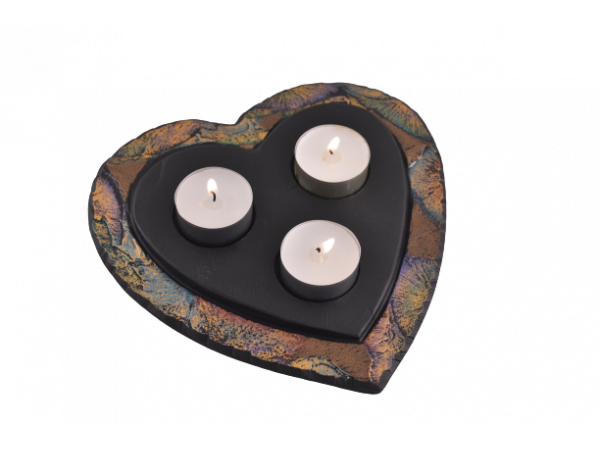 Tealight Holder Heart-Shaped