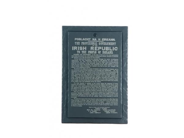 Written in Stone: The Proclamation of the Irish Republic