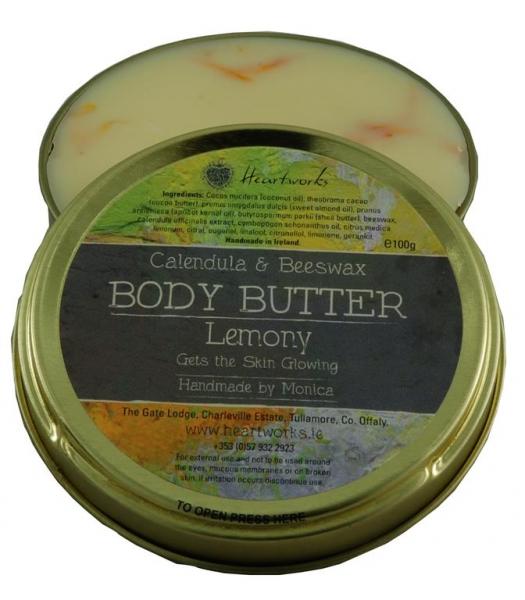 lemon scented body butter