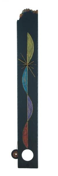 extra long slate pendulum clock