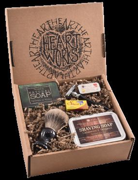 cedarwood shaving gift set deluxe (a)