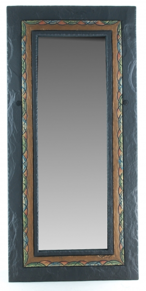 celtic border rectangular mirror