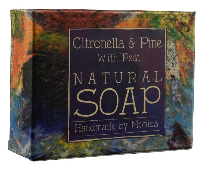 Palm Free Natual Soap Citronella and Pine with Peat