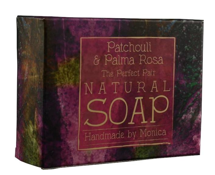 Palm Free Natural Soap Patchouli and Palma Rosa