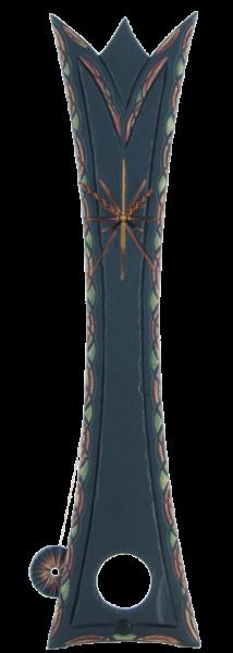 Slate pendulum clock Queen Ornate