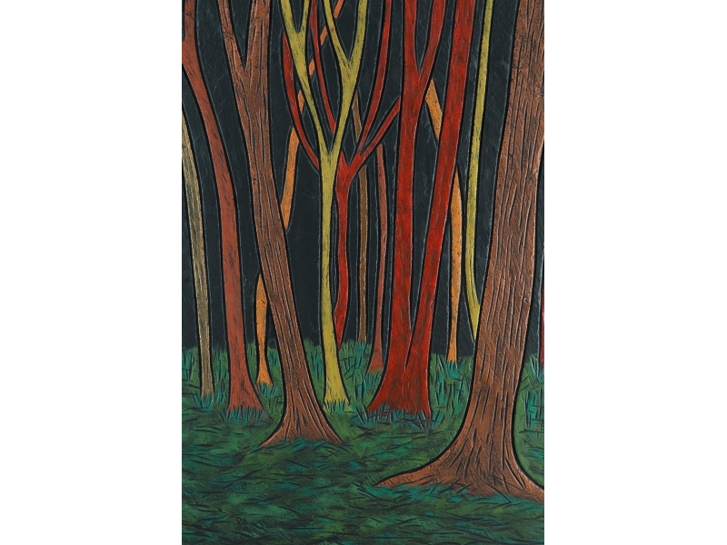Ancient Forest on Slate