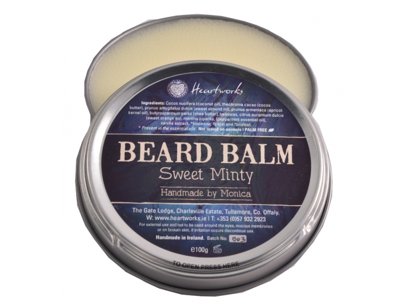 Natural Palm Free Beard Balm
