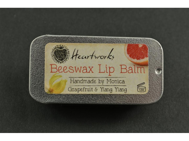 Beeswax Lip Balm Grapefruit and Ylang Ylang