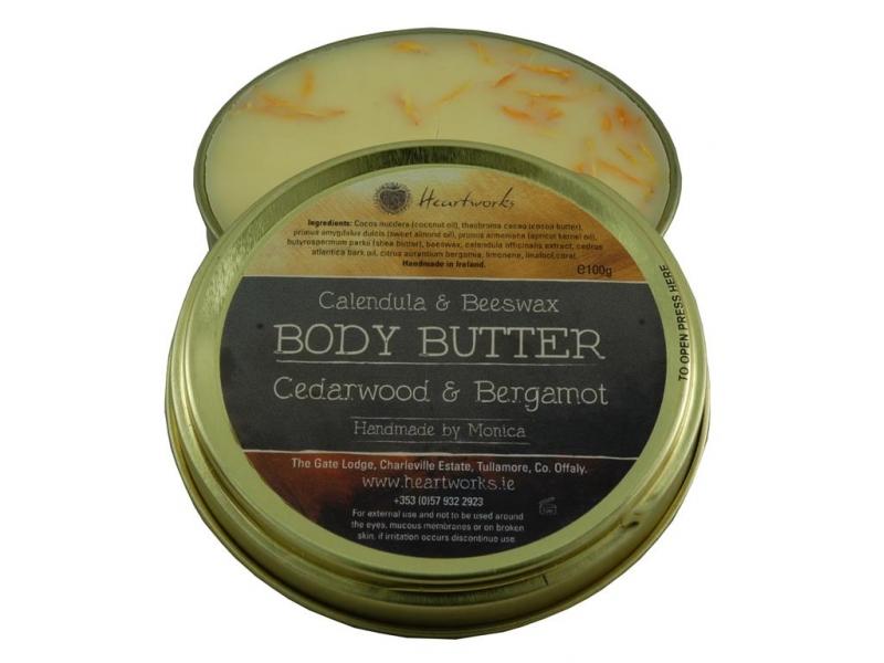 body butter cedarwood bergamot