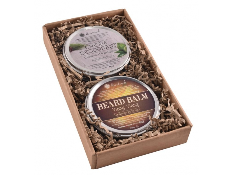 Natural Beard Balm and Aluminum Free Deodorant