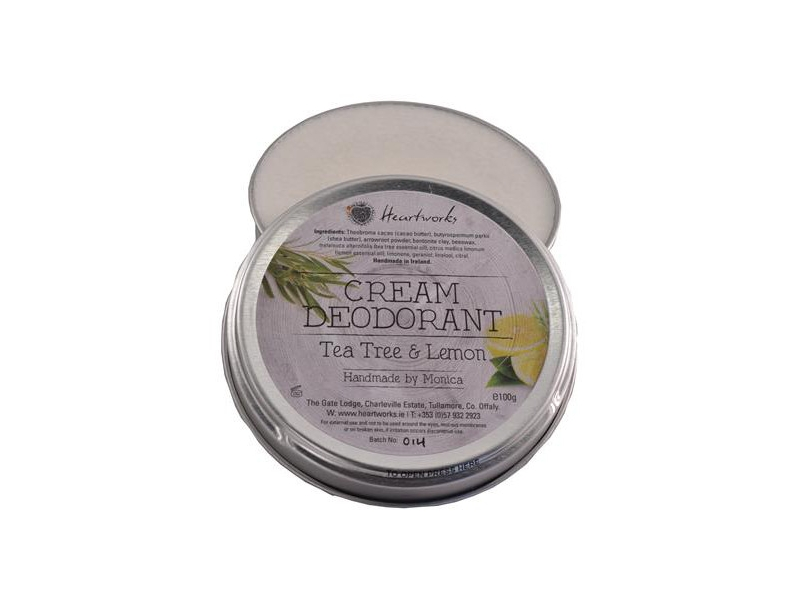 Natural Cream Deodorant by Heartworks