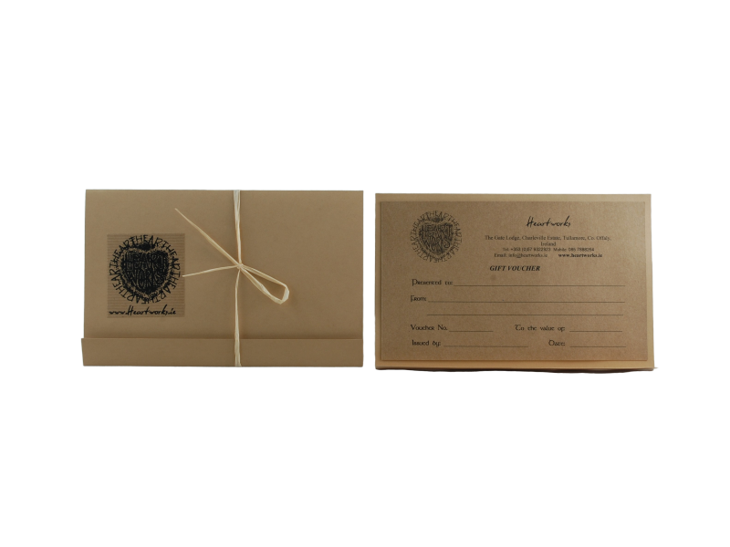 Gift Voucher from Heartworks Slate