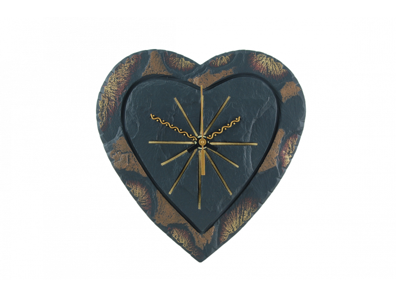 Slate Heart Clock