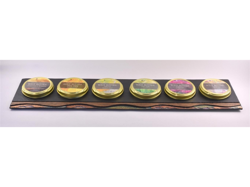 Heartworks Body Butter on Slate Display Unit