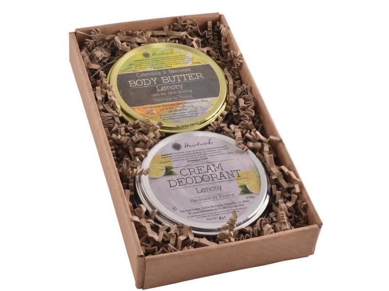 Lemony Devine gift set for women.