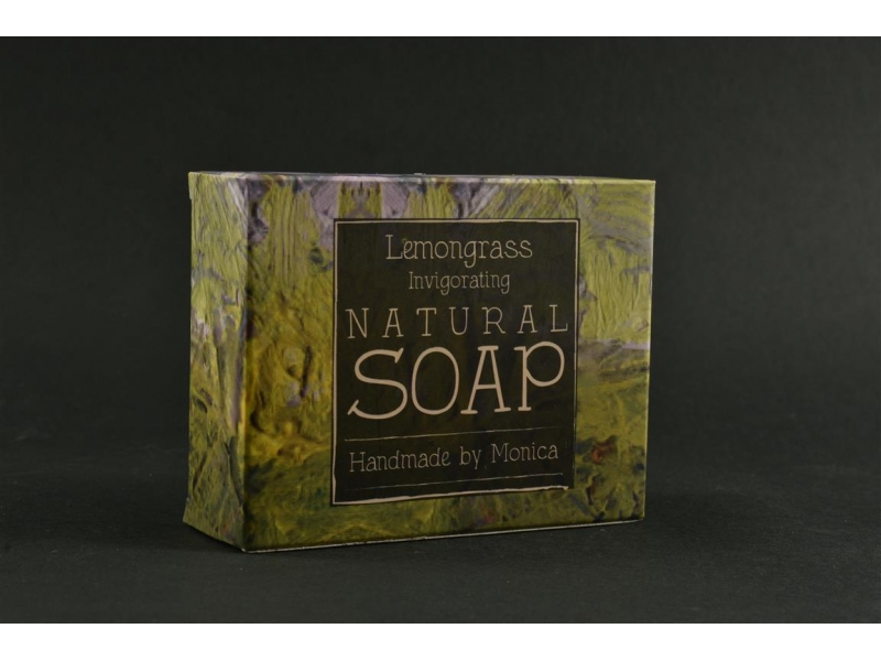 Natural Handamde Soap with Lemongrass