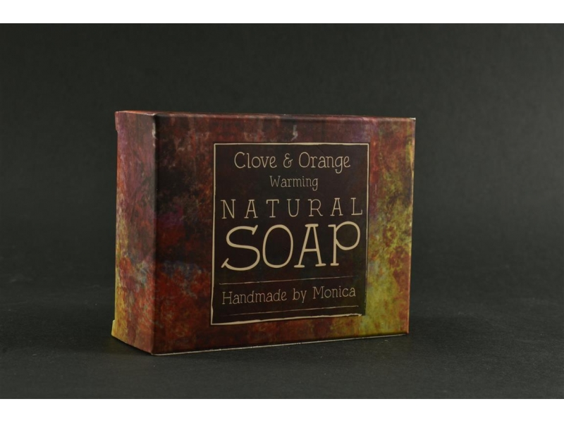Natural Handmade Soap Clove n Orange.