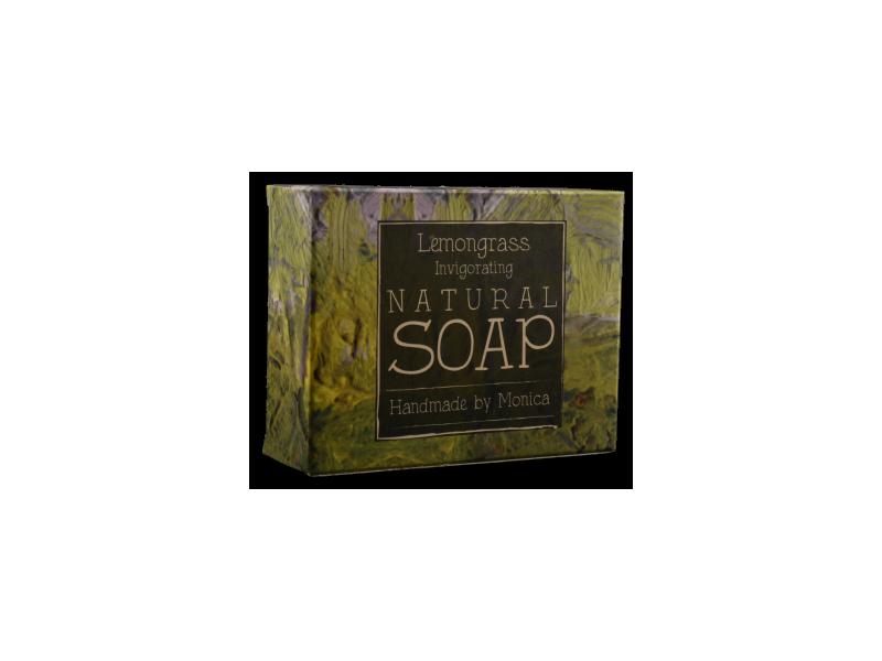 Natural handmade soap lemongrass