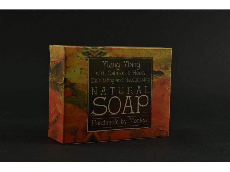 Natural Handmade Soap Ylang Ylang with Oatmeal n Honey