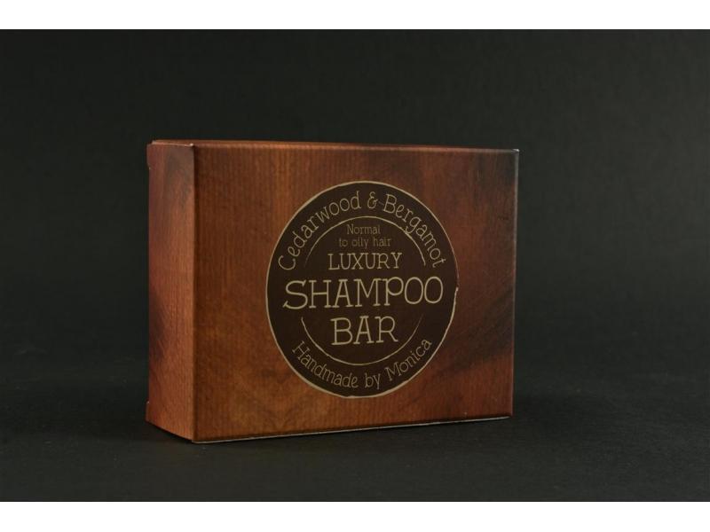 Natural Shampoo Bar Cedarwood n Bergamot for Normal to Oily Hair