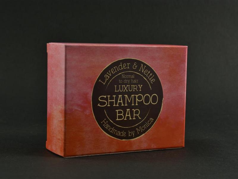 natural handmade shampoo bar