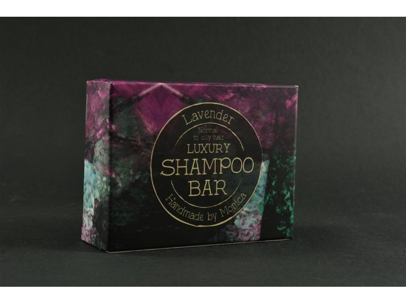 Natural Shampoo Bar Lavender for Normal to Oily Hair