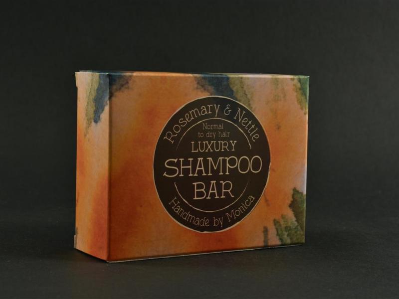 Rosemary and nettle shampoo bar