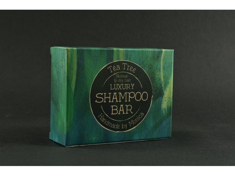 Shampoo in a bar