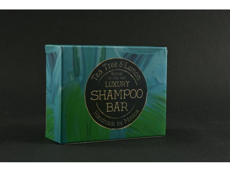Shampoo in a bar